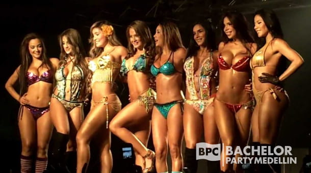 Bachelor Party Medellin Girls