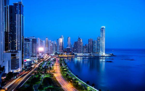 Bahía-de-Panama-Noche